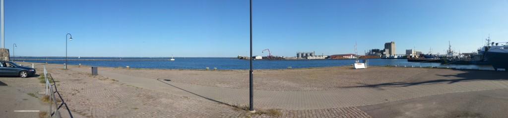 Panorama - Kalmar hamn