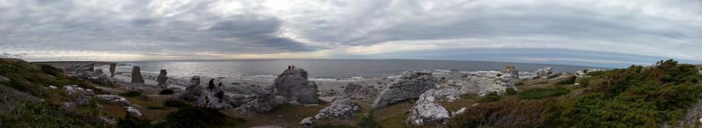 Panorama - Fårö rauk